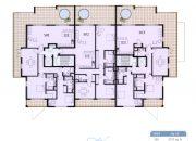 Waterside Fourth Floor Plan