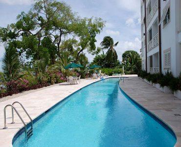 Lap Pool and seaside deck