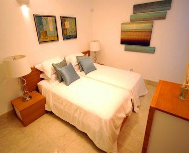 Waterside bedroom